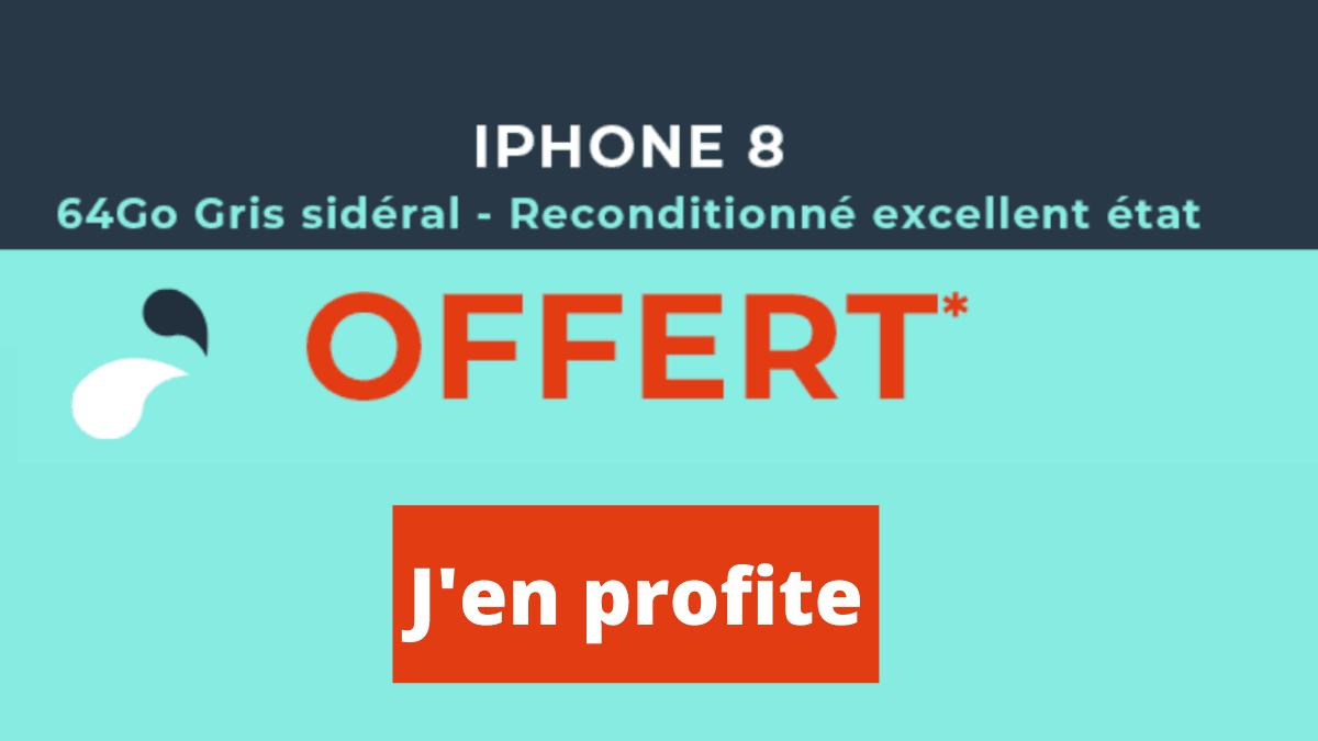iPhone 8 cadeau de Cdiscount