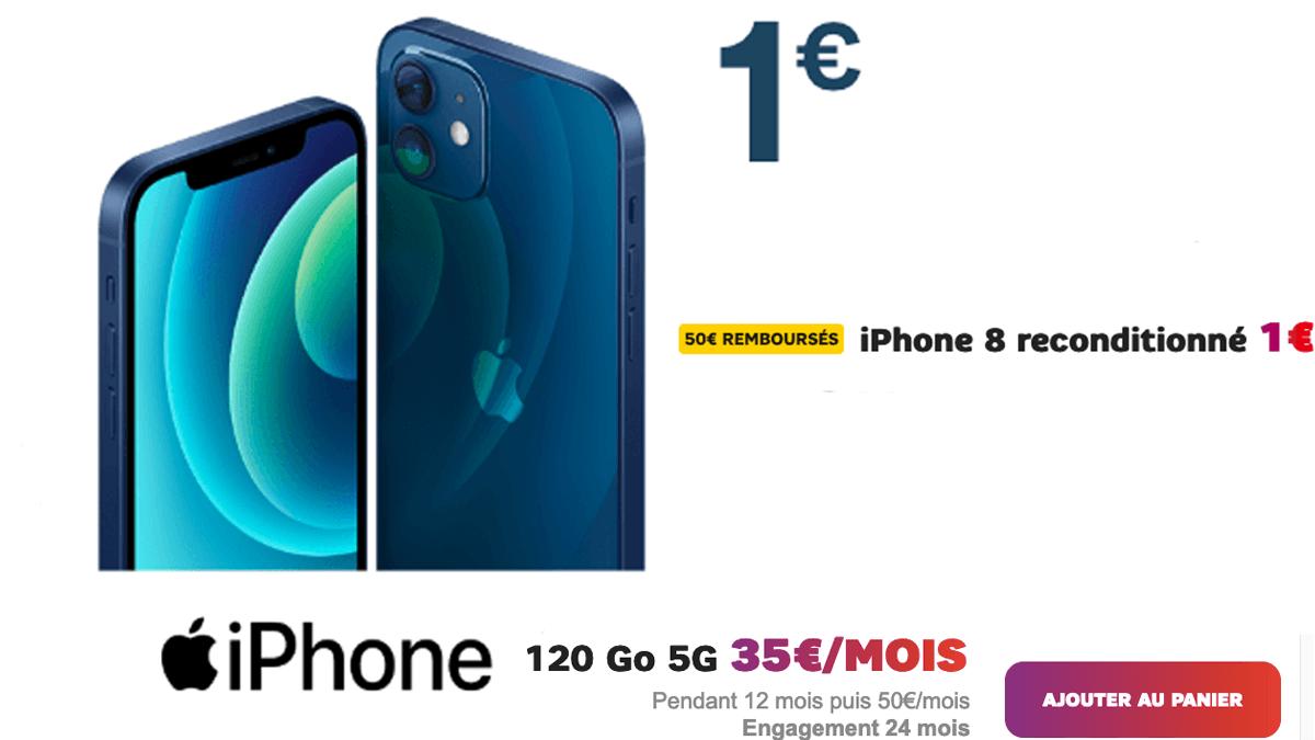 L'iPhone 8 reconditionné à 1€