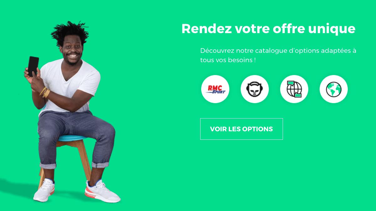 Forfait à 5€ pour les offres exclusives de la rentrée RED by SFR