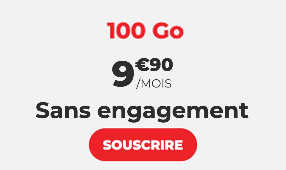 le forfait 100 Go de Syma