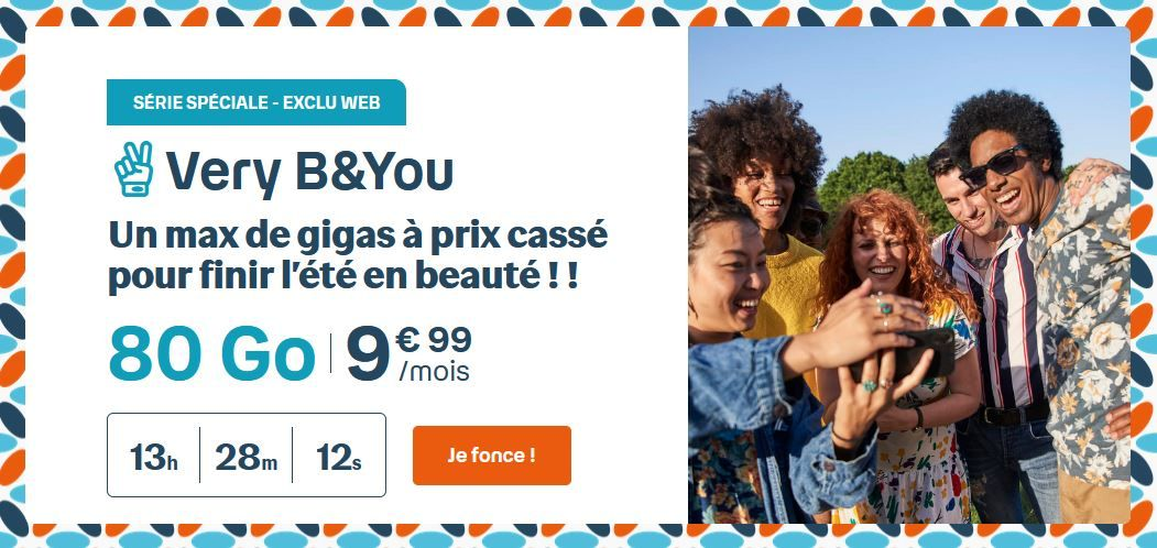 Le forfait Very B&YOU