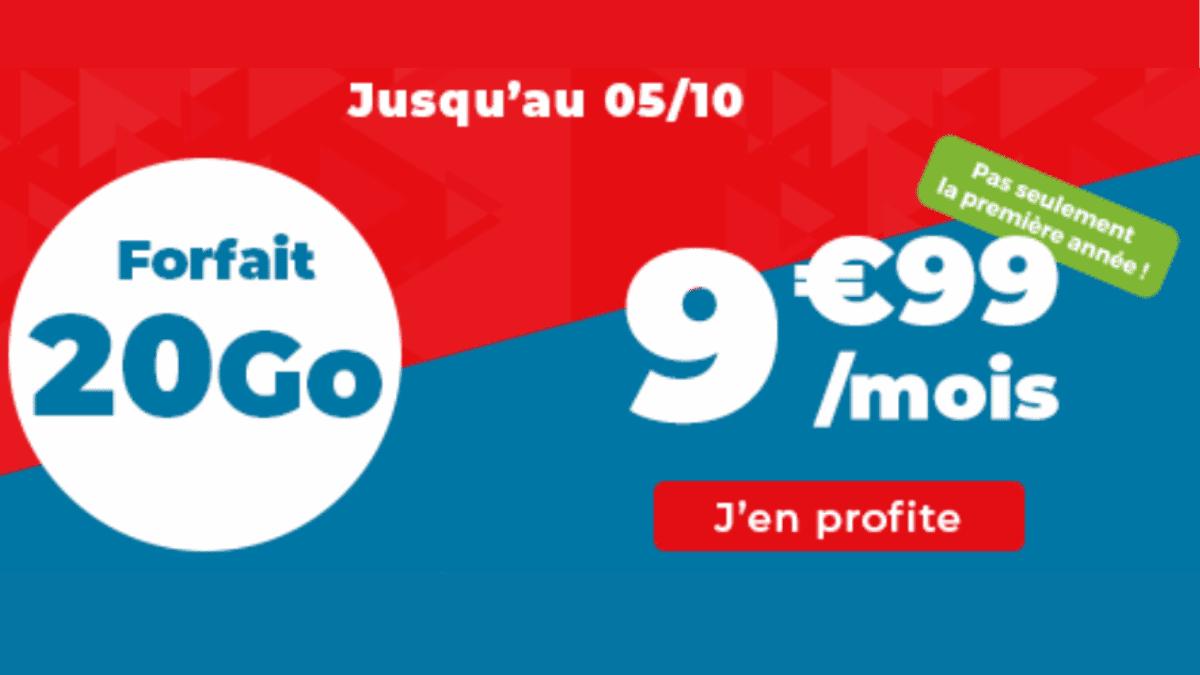 20 Go de forfait pas cher Auchan