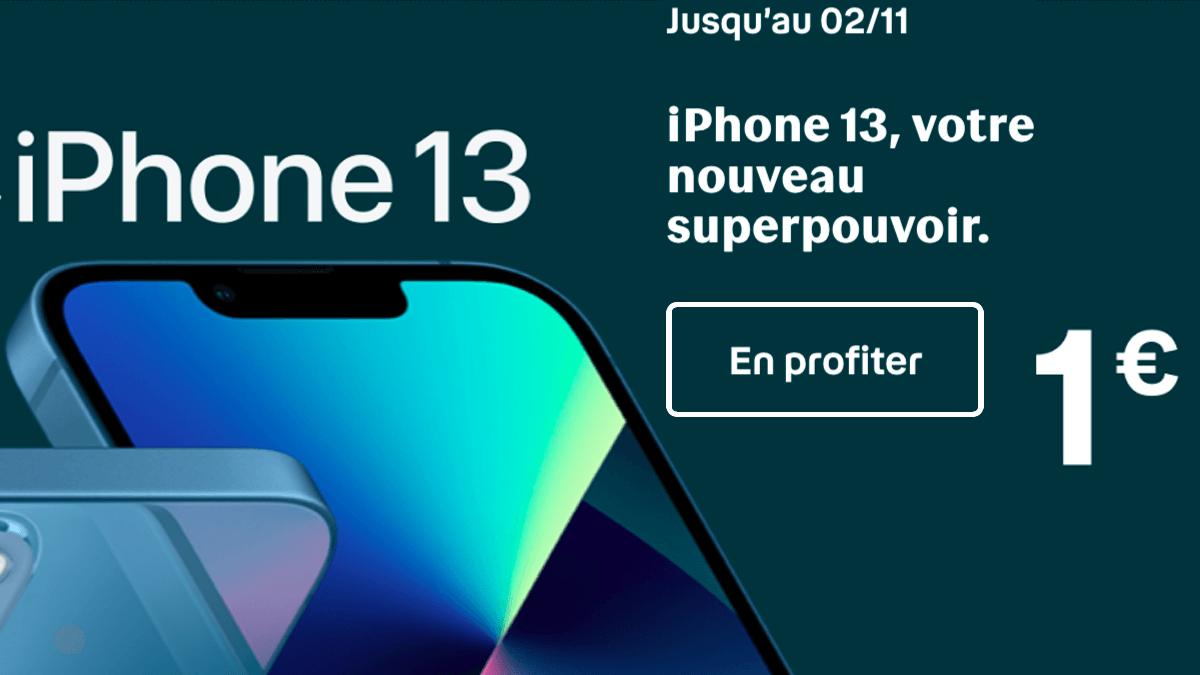 iPhone 13 avec Bouygues Telecom