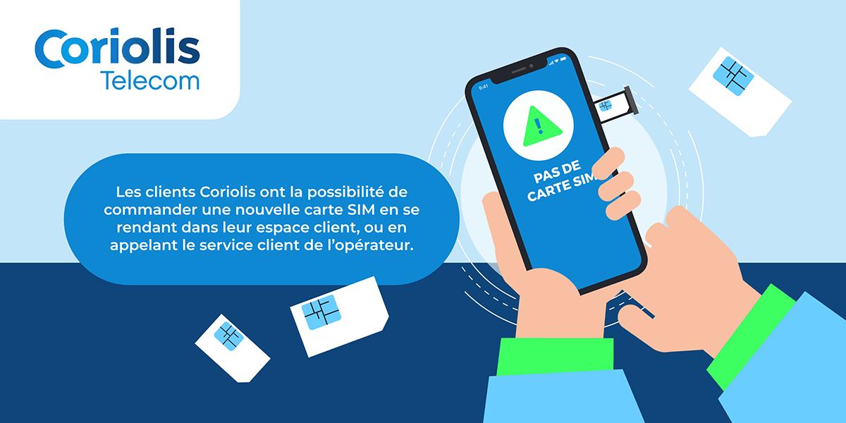 Carte SIM Coriolis Telecom