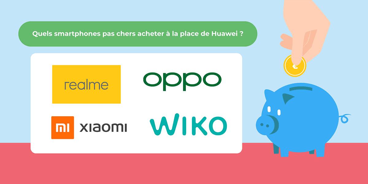 Alternatives à Huawei