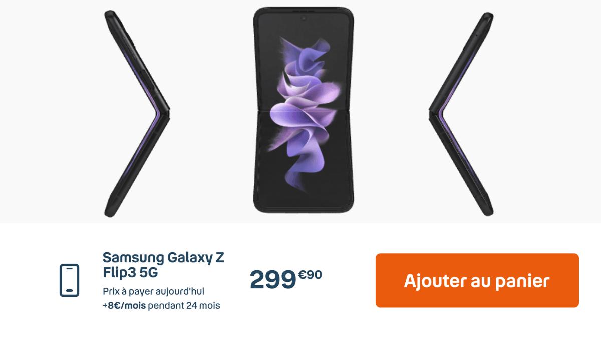 Samsung Galaxy Z Flip3 Bouygues