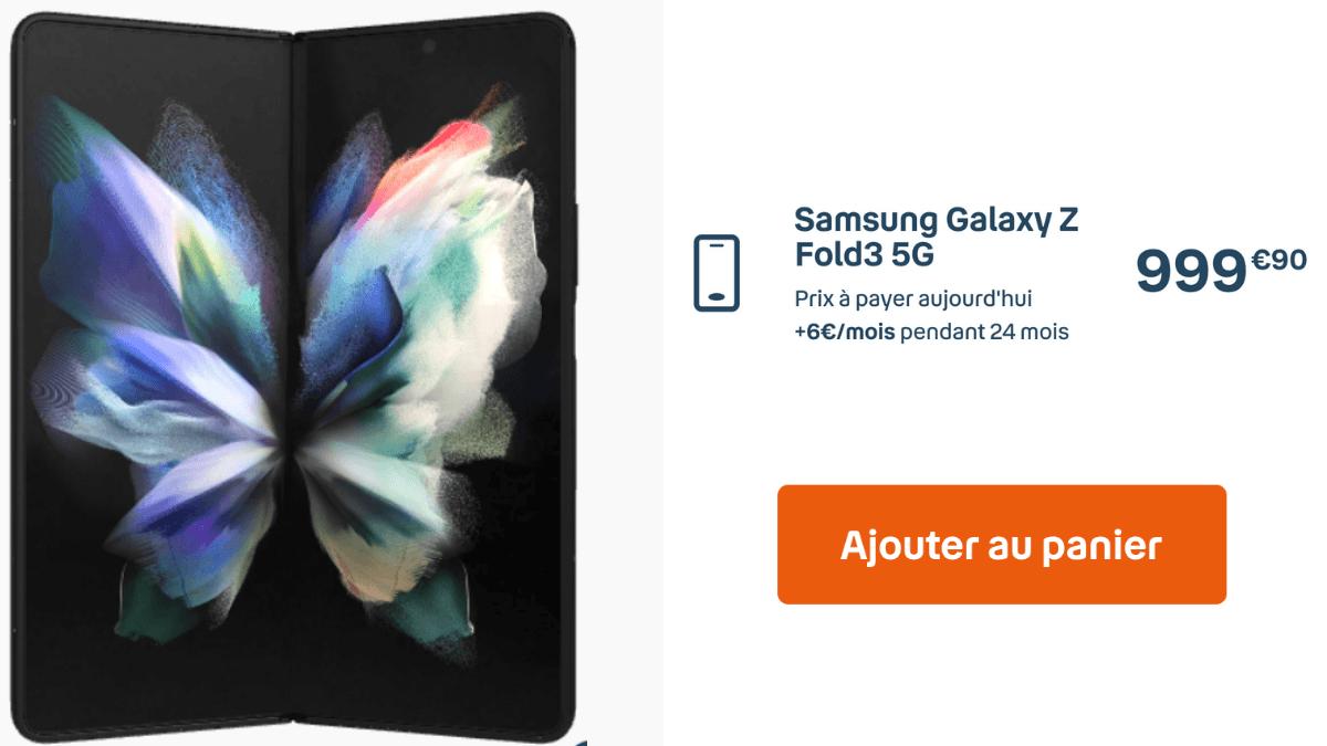 Samsung Galaxy Fold3 Bouygues